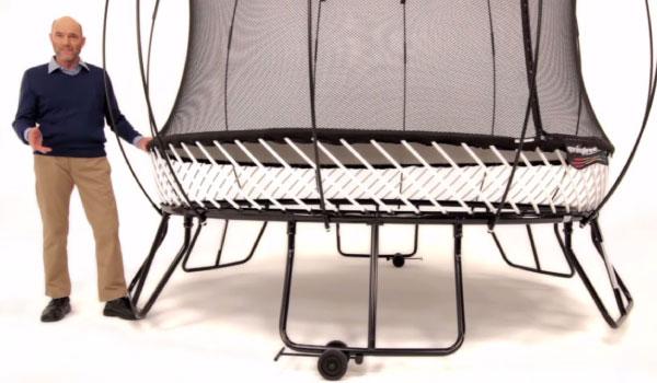 Flytthjul - Springfree Trampoline